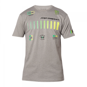 Camiseta FOX Monster Pro Circuit Cinza